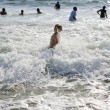 Boy enjoys waves at Redondo Beach — Stock Photo #5799320