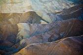 Zabriskie Point in Death Valley — Stock Photo