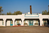 """Hotel in village """"Death valley Junction"""" an old Borax Mining sp — Stock Photo"""