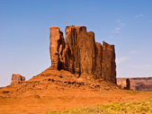 Famous scenic Butte in Monument Valley — Stock Photo