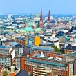 Royalty-Free Stock Photo: Cityscape of Hamburg from the famous tower Michaelis