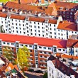 Cityscape of Hamburg from the famous tower Michaelis — Stock fotografie