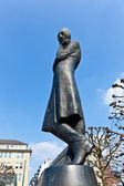 Heinrich Heine Statue in Hamburg — Stock Photo