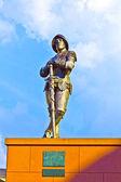 Statue von ritter hartmut zu kronberg — Stockfoto