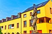 骑士 hartmut zu 伯格的雕像 — 图库照片
