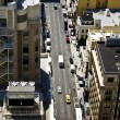 Streets of San Francisco seen from a sky scraper — Stock Photo