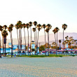 Scenic pier in Santa Barbara - Stock Photo
