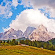 Dolomite alps — Stock Photo #5818010