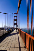 Golden gate bridge di san francisco — Foto Stock
