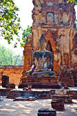 Temple of Wat Mararat in Ayutthaya near Bangkok, Thailand — Foto Stock