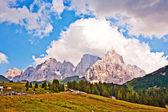 Dolomite alps — Stock Photo