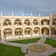 Monastery Jeronimos in Belem, near Lisbon, famous monastery in P - Stock Photo