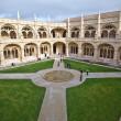 Monastery Jeronimos in Belem, near Lisbon, famous monastery in P — Stock Photo