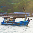 Fisherboat in Koh Chang, Thailand — Stock Photo