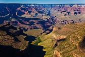вид на гранд-каньон с гранд-каньон-виллидж — Стоковое фото