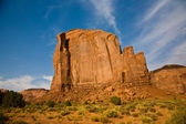 Butte in daytime in Monument Valley — Stock Photo