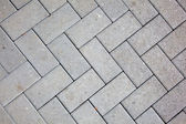 Pavement pattern made with cast concrete blocks in grey color — Stock Photo