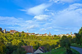 Rothenburg ob der Tauber, old famous city from medieval times — Stock Photo