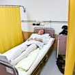 Patient is waiting in the hospital for operation — Stock Photo
