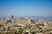 Urban villages in San Francisco — Stock Photo