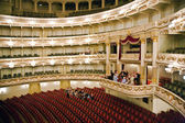 Semper Opera from inside, Dresden — Stock Photo