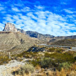 Beautiful scenic road in New Mexico in rocky landscape — Stock Photo #5942208