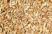 Wood shavings on the floor — Stock Photo