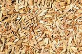 Wood shavings on the floor — Stock Photo