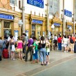 Buy ticketst in the famous West Train Station - Stock Photo