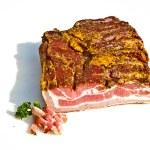 Fresh tasty ham in detail — Stock Photo #5996880
