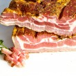 Fresh tasty ham in detail — Stock Photo #5996886