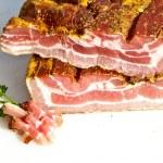 Fresh tasty ham in detail — Stock Photo #5996886