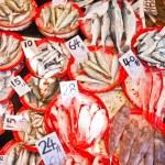 Fresh fish at the market — Stock Photo #5996957