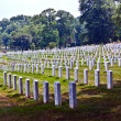 Headstones at the Arlington national Cemetery — Stock Photo #5997257