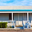 Motel in the outer banks, USA — Stock Photo
