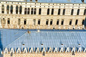 Details of medieval roof in Venice of palace at markus Place — Stock Photo