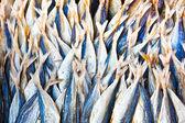 市場で干し魚 — ストック写真