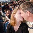 Stock Photo: Couple in Love as guests in an open air concert