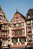 Frame house from the medieval times in romantic Trittenheim — Stock Photo
