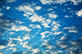 Cloudscape in the sky — Stock Photo