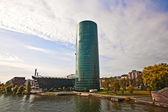 Cityscape frankfurt almanya i̇ş merkezi — Stok fotoğraf