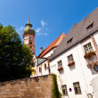 Famous cloister of Andechs - Stock Photo