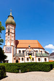 Famous cloister of Andechs — Stock Photo