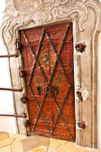 Door in famous cloister of Andechs from inside — Stock Photo
