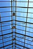 Glass roof of famous cloister of Andechs — Stock Photo