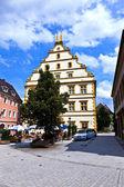 Seinsheim castle in medieval town of marktbreit — Stock Photo