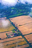 Aerial of fields near hamburg — Stock Photo