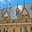 Famous hospice in Beaune, France - Stock Photo