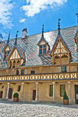 Famous hospice in Beaune, France — Stock Photo