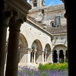 Cloister of Senanque Abbey, Vaucluse, Gordes, Provence, France — Photo